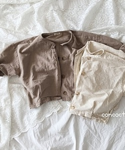 CONCOCTER - BRAND - Korean Children Fashion - #Kfashion4kids - Natural Jacket