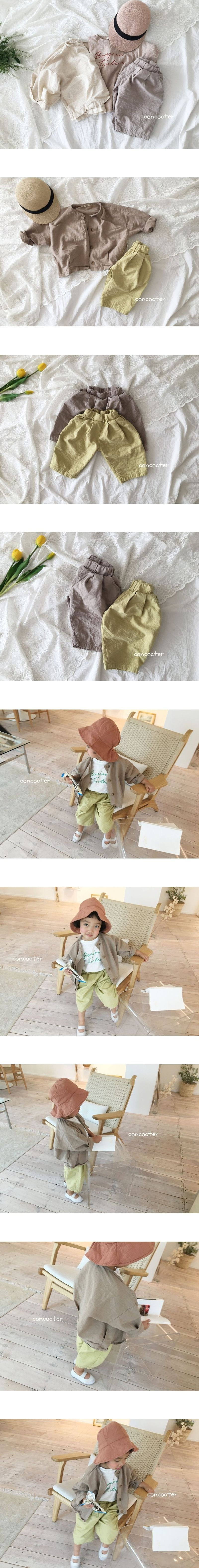 CONCOCTER - Korean Children Fashion - #Kfashion4kids - Pleats Wide Pants