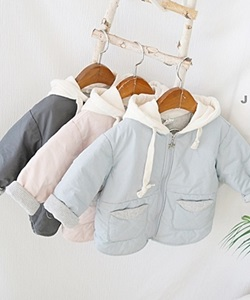 J-ROOM - BRAND - Korean Children Fashion - #Kfashion4kids - Two Tone Hood Jacket