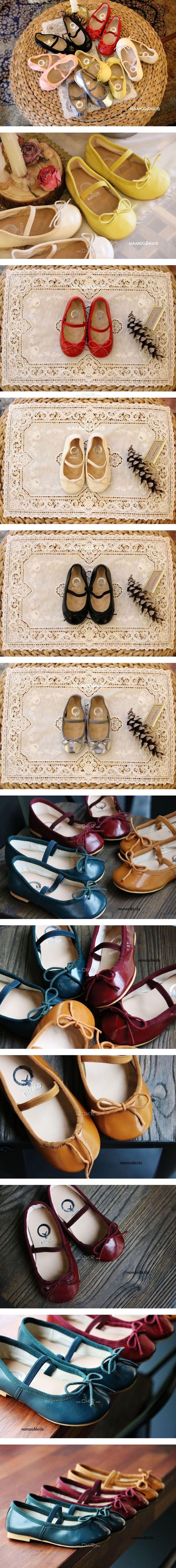 NAMOO & KIDS - Korean Children Fashion - #Kfashion4kids - Deco Flat Shoes