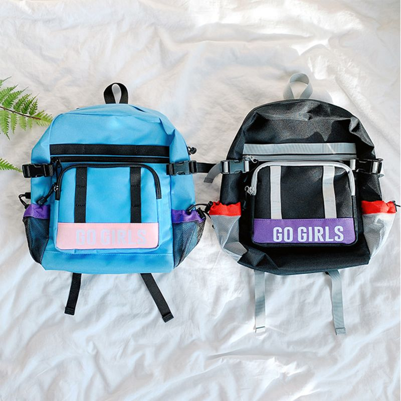 PEACH-CREAM - BRAND - Korean Children Fashion - #Kfashion4kids - Go Girls Backpack