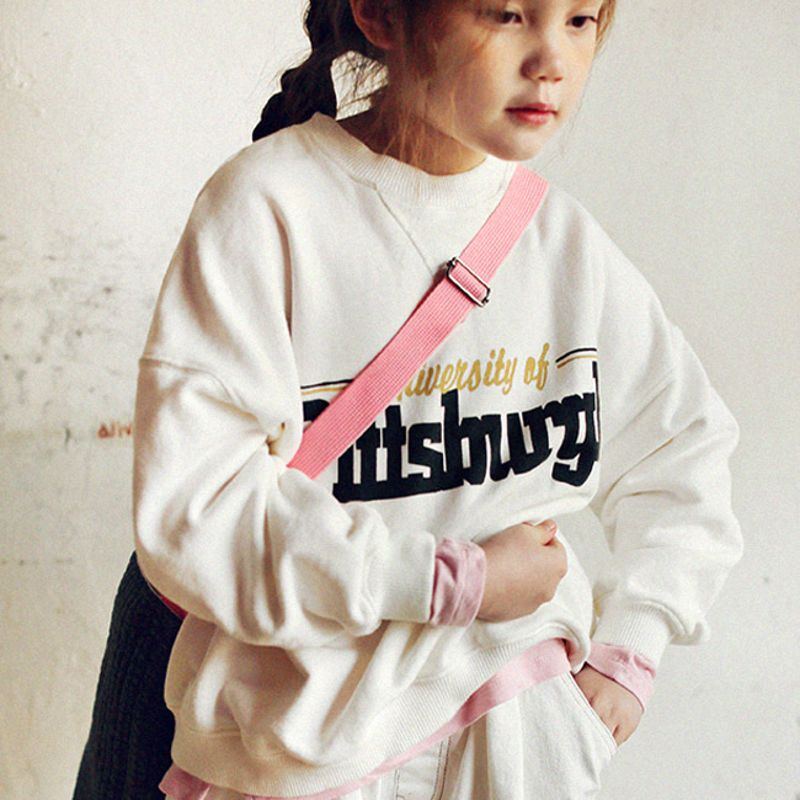 SCON - BRAND - Korean Children Fashion - #Kfashion4kids - Pittsburgh Sweat Shirt