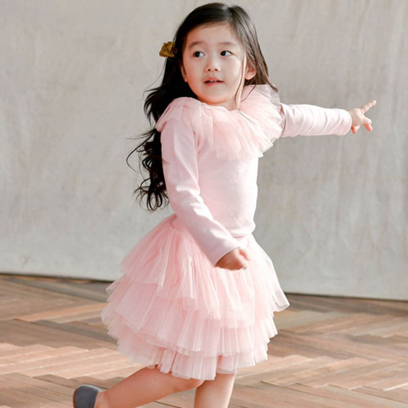 WANDOOKONG - BRAND - Korean Children Fashion - #Kfashion4kids - Rea Frill Tee