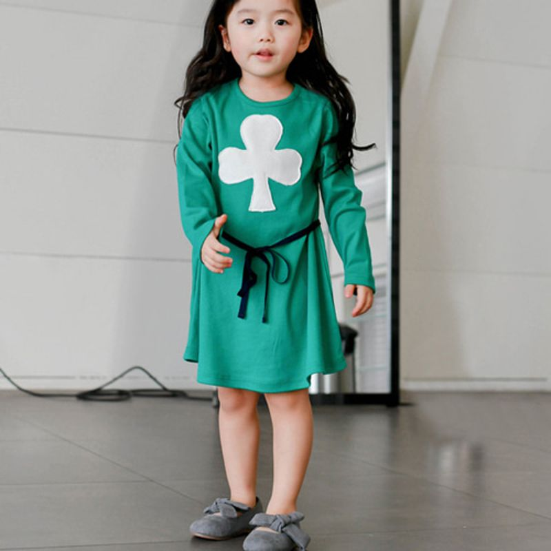 WANDOOKONG - BRAND - Korean Children Fashion - #Kfashion4kids - Lala Clover Dress