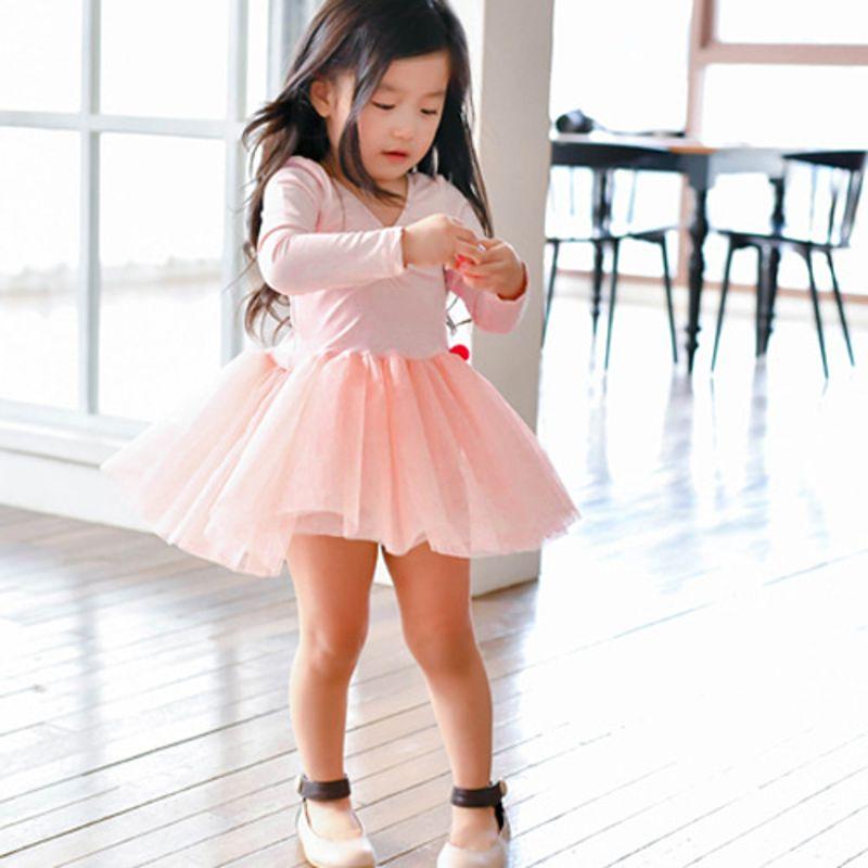 WANDOOKONG - BRAND - Korean Children Fashion - #Kfashion4kids - Heritage Ballet Pink Dress