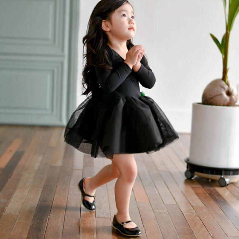 WANDOOKONG - BRAND - Korean Children Fashion - #Kfashion4kids - Heritage Ballet Black Dress
