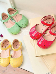 BABYZZAM - BRAND - Korean Children Fashion - #Kfashion4kids - Dot Shoes