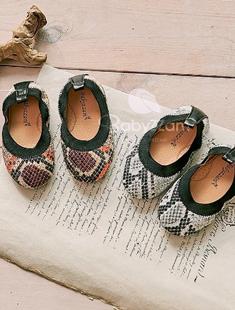 BABYZZAM - BRAND - Korean Children Fashion - #Kfashion4kids - Soft Leopard Flat