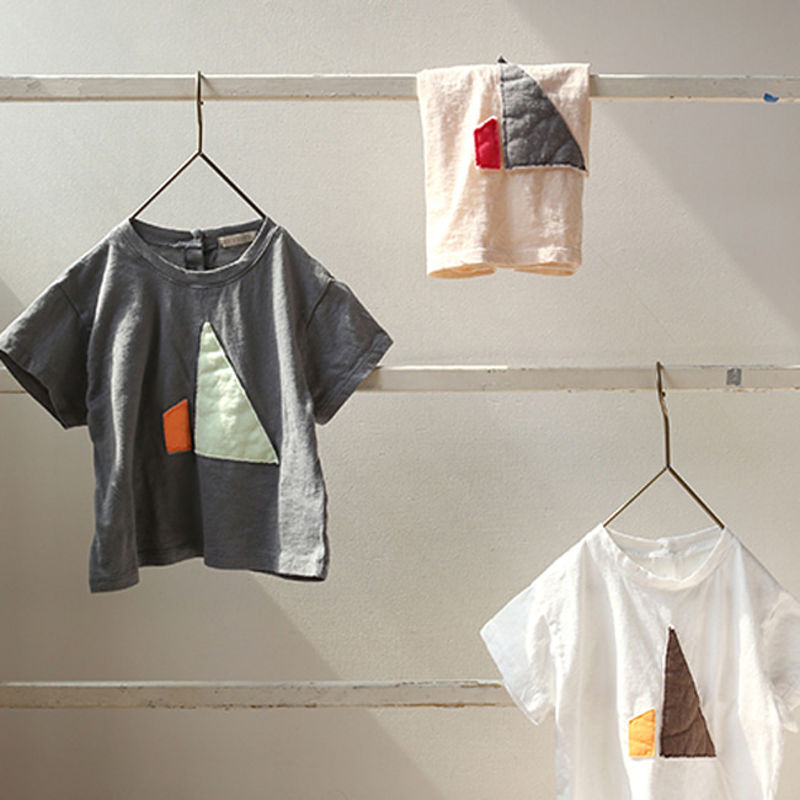 BIEN A BIEN - BRAND - Korean Children Fashion - #Kfashion4kids - Patch T-shirt