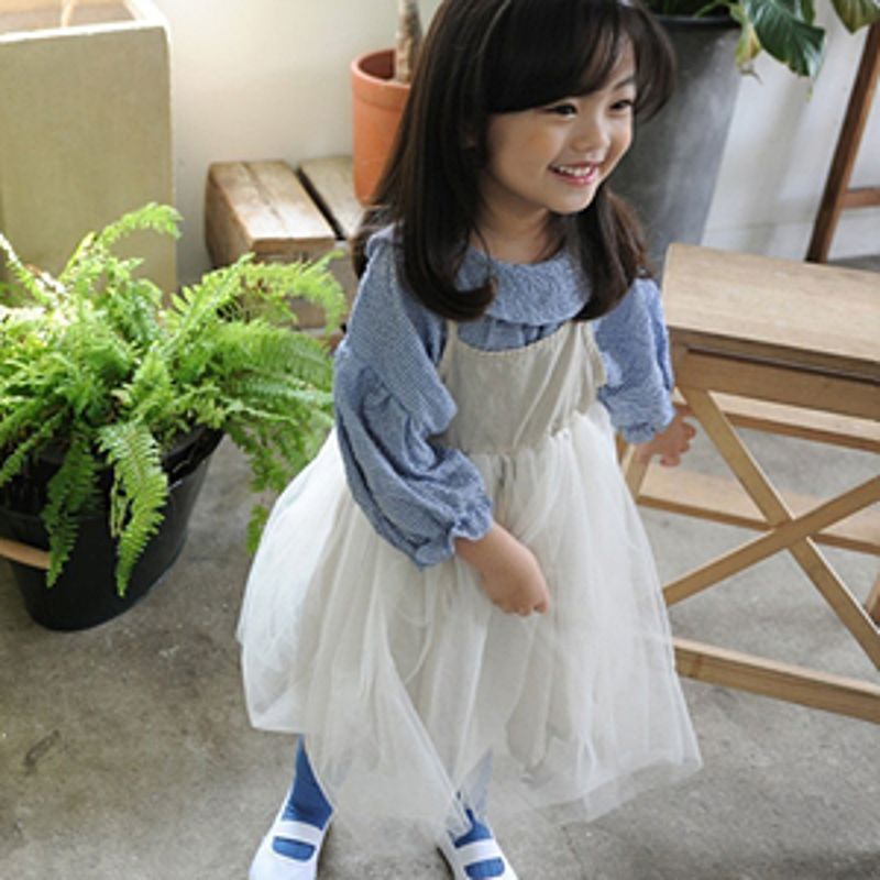 BUTTERCUP - BRAND - Korean Children Fashion - #Kfashion4kids - String Tutu Dress