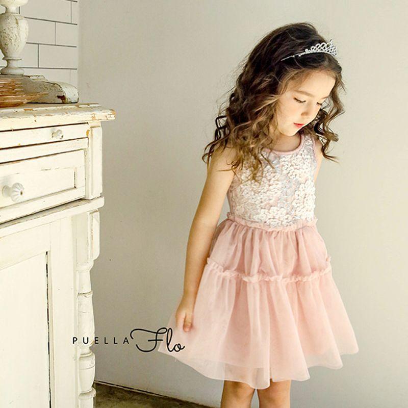 FLO - BRAND - Korean Children Fashion - #Kfashion4kids - Devona Dress