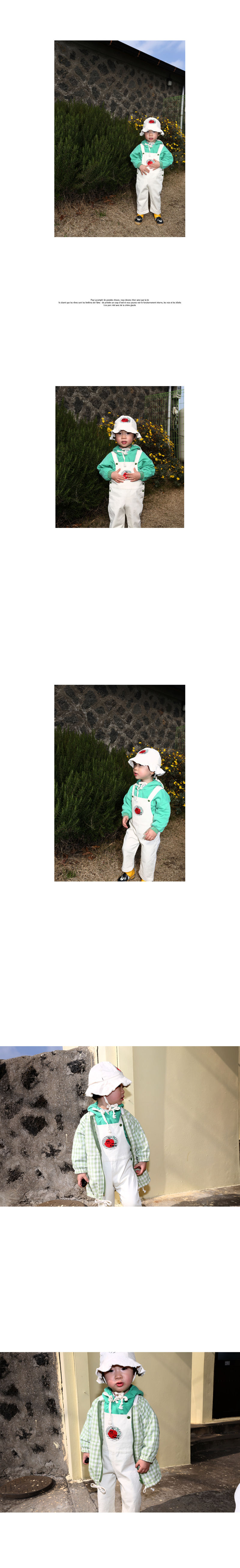 HETZEBEBE - Korean Children Fashion - #Kfashion4kids - Snap Active Dungarees Suspender Pants