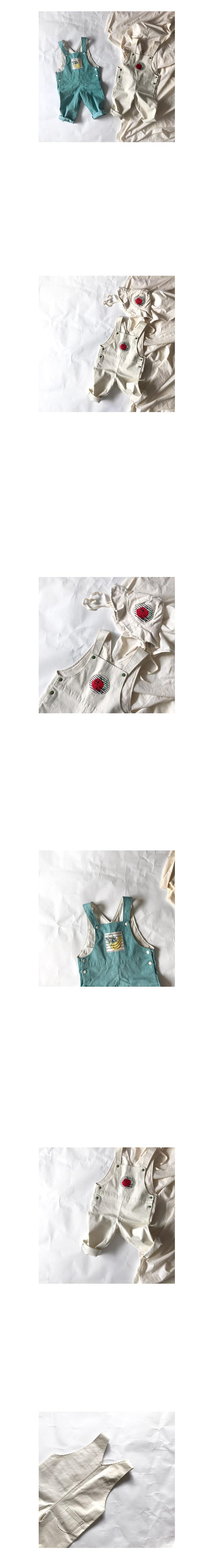 HETZEBEBE - Korean Children Fashion - #Kfashion4kids - Snap Active Dungarees Suspender Pants  - 4
