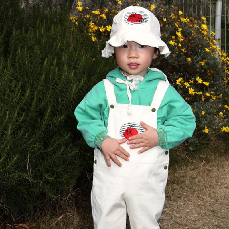 HETZEBEBE - BRAND - Korean Children Fashion - #Kfashion4kids - Snap Active Dungarees Suspender Pants