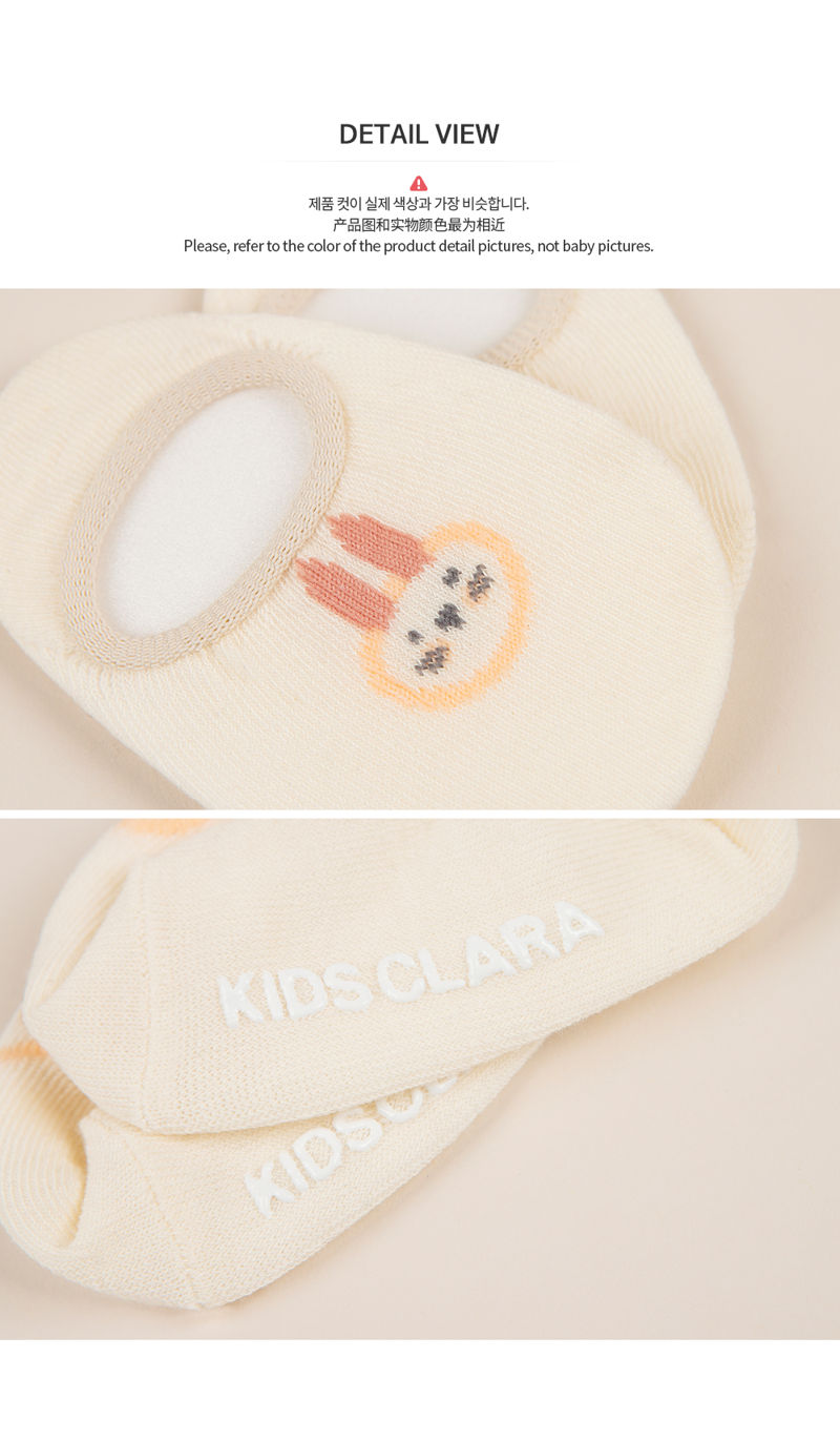 KIDS CLARA - Korean Children Fashion - #Kfashion4kids - Polling Summer Low Cut Socks [set of 5] - 6