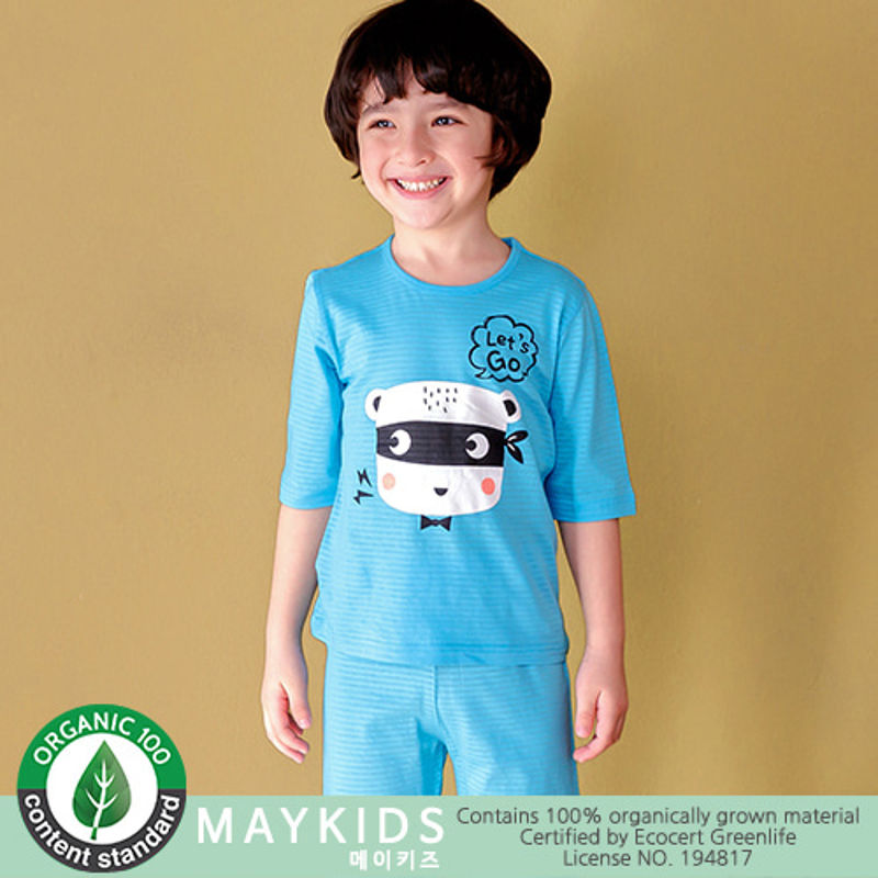 MAYKIDS - BRAND - Korean Children Fashion - #Kfashion4kids - Let`s Go Bear Playwear