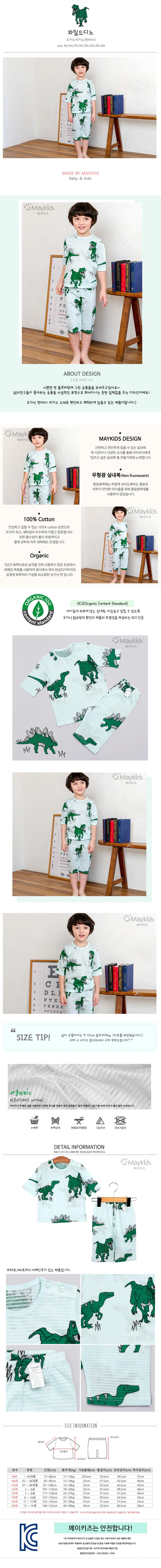 MAYKIDS - Korean Children Fashion - #Kfashion4kids - Wild Dino Playwear