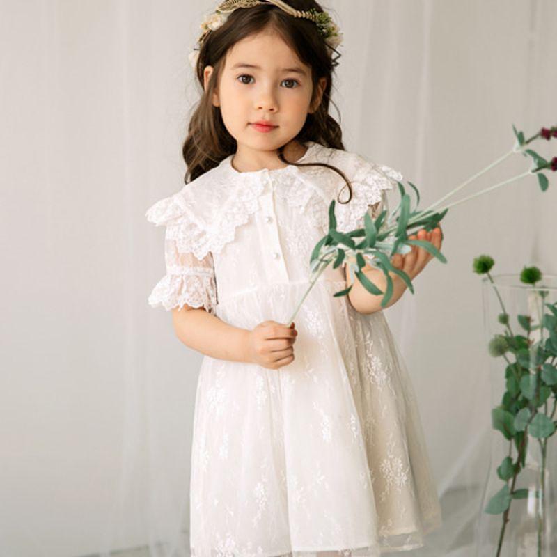 MERRY KATE - BRAND - Korean Children Fashion - #Kfashion4kids - Fleur Dress