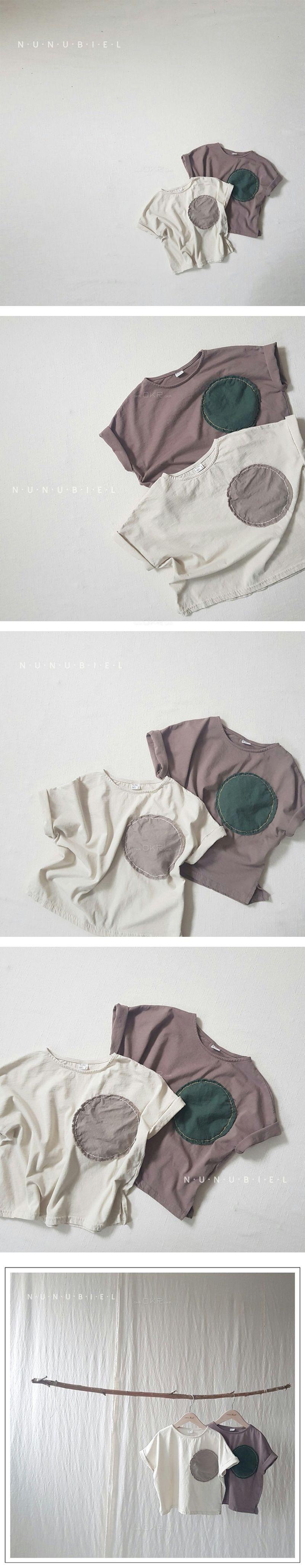 NUNUBIEL - Korean Children Fashion - #Kfashion4kids - Circle Tee