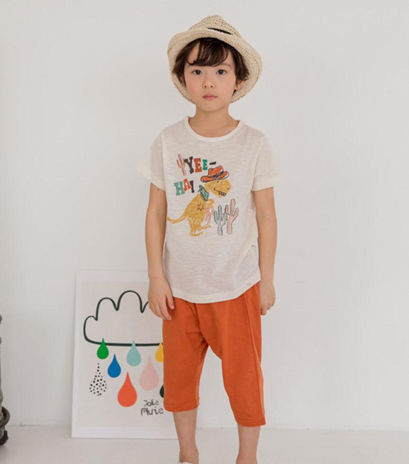 TTASOM - BRAND - Korean Children Fashion - #Kfashion4kids - Cowboy Dino Easywear