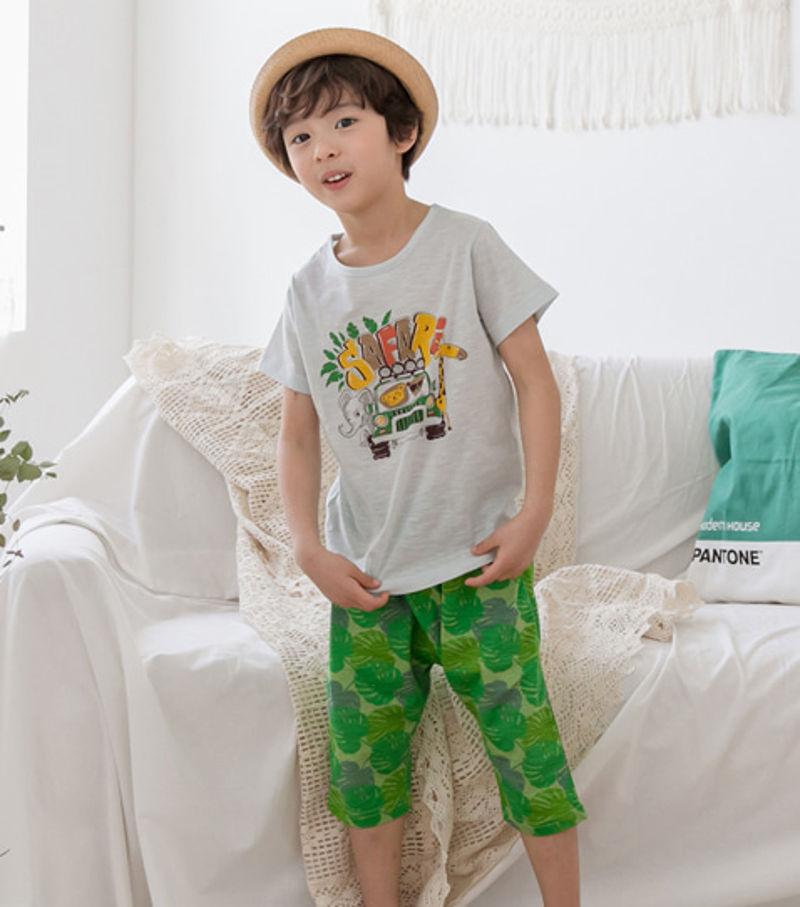 TTASOM - BRAND - Korean Children Fashion - #Kfashion4kids - Jungle Car Easywear