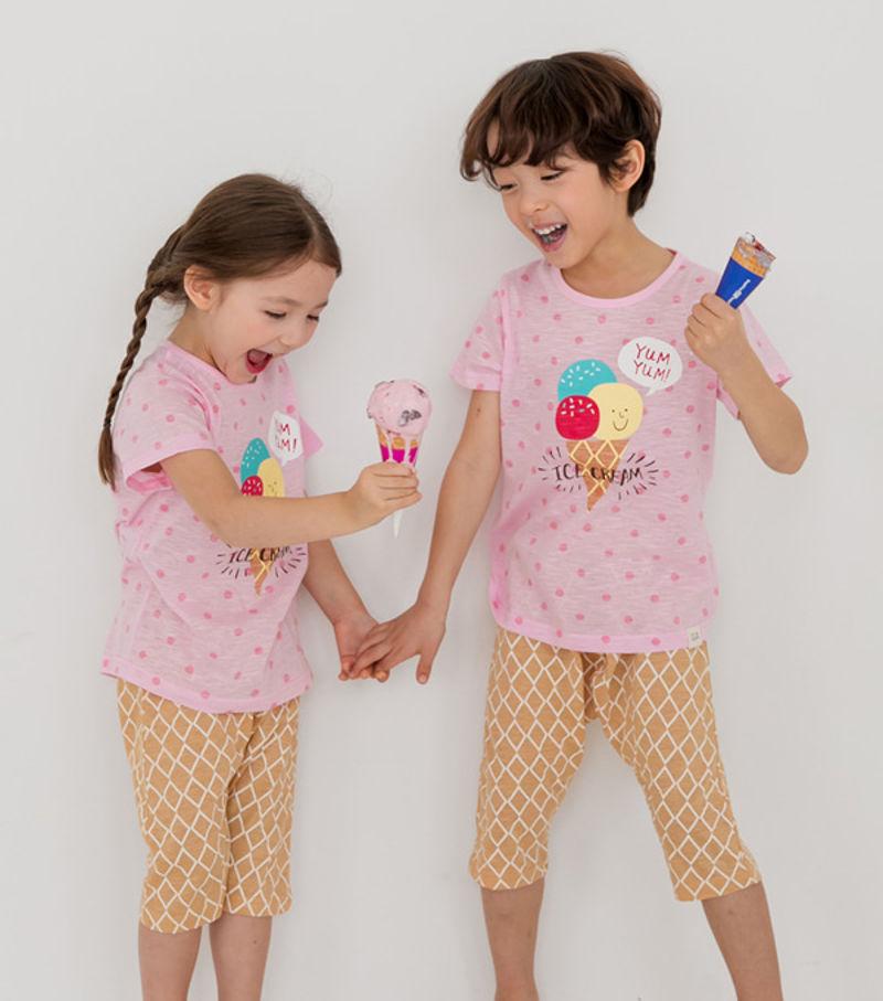 TTASOM - BRAND - Korean Children Fashion - #Kfashion4kids - Ice Cream Easywear