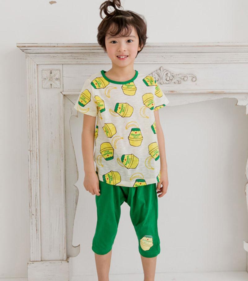 TTASOM - BRAND - Korean Children Fashion - #Kfashion4kids - Milk Yellow Easywear