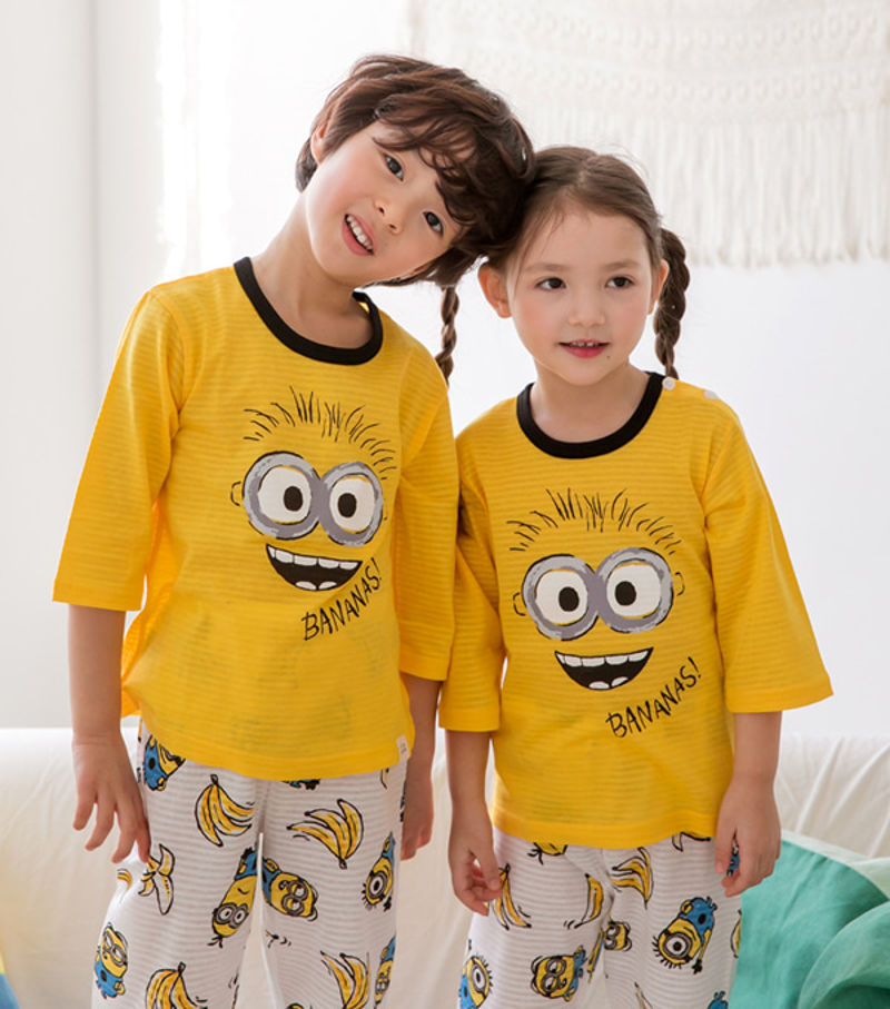 TTASOM - BRAND - Korean Children Fashion - #Kfashion4kids - Giggler Friends Easywear