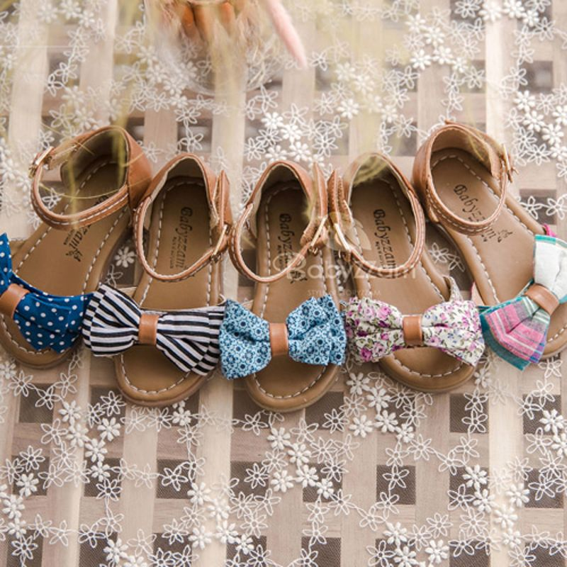 BABYZZAM - BRAND - Korean Children Fashion - #Kfashion4kids - Girlish Sandal