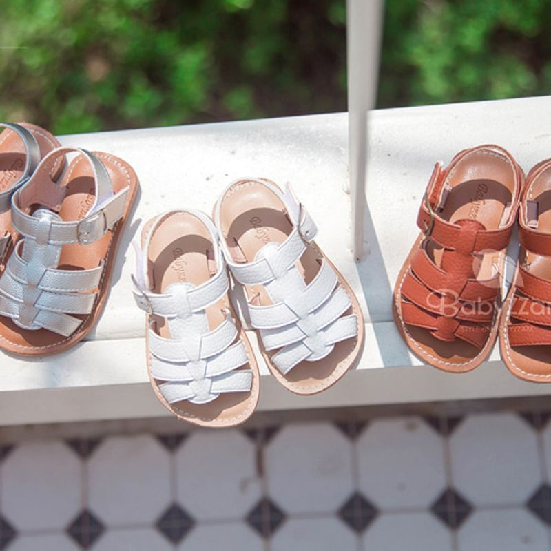 BABYZZAM - BRAND - Korean Children Fashion - #Kfashion4kids - Gladiator Sandal