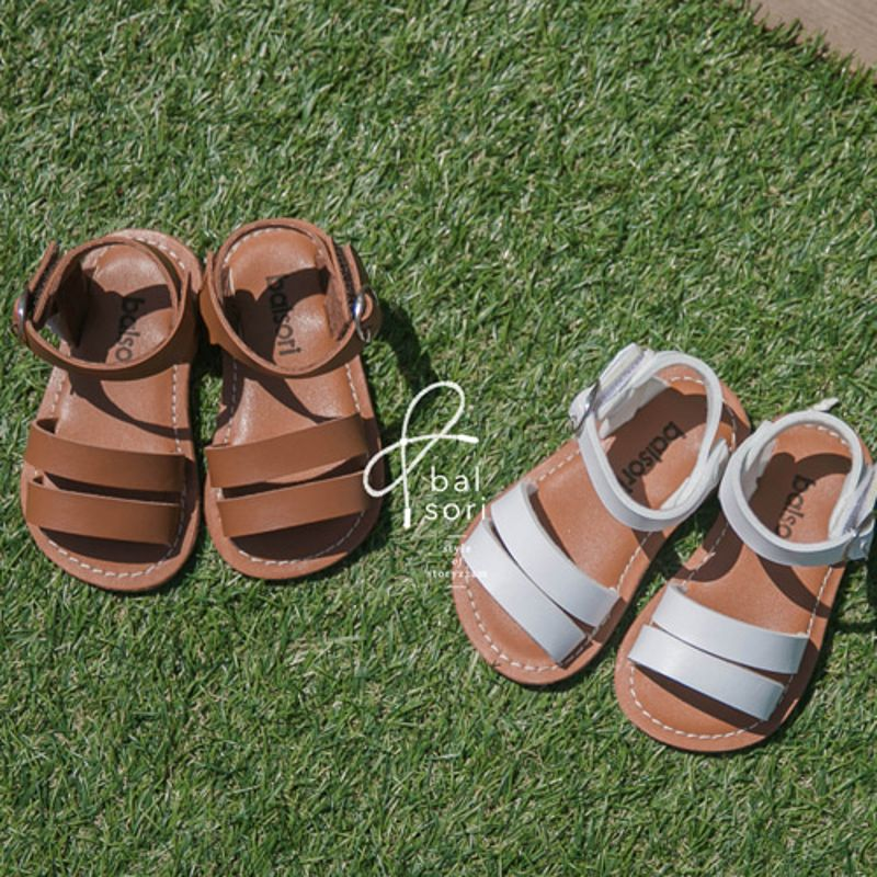 BABYZZAM - BRAND - Korean Children Fashion - #Kfashion4kids - Bread Sandal