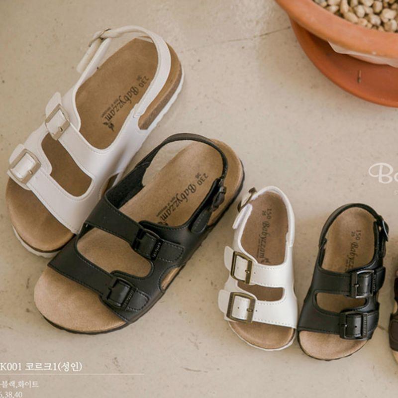 BABYZZAM - BRAND - Korean Children Fashion - #Kfashion4kids - Adult Corcor Sandal