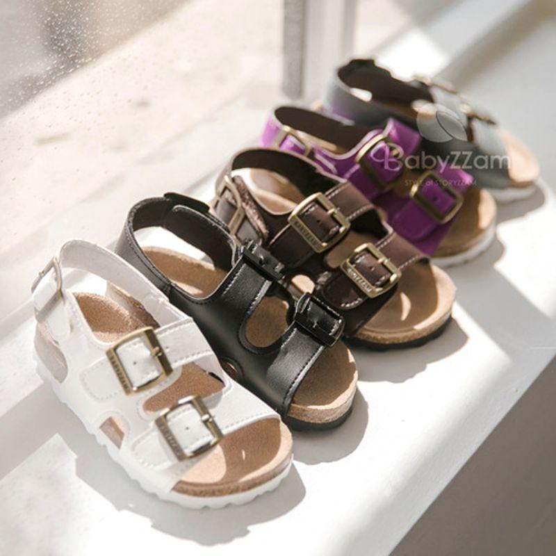 BABYZZAM - BRAND - Korean Children Fashion - #Kfashion4kids - Kids Corcor Sandal