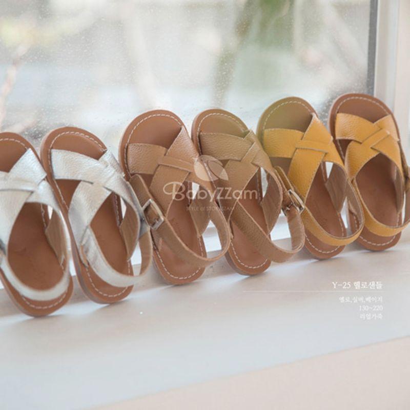 BABYZZAM - BRAND - Korean Children Fashion - #Kfashion4kids - Hellow Sandal