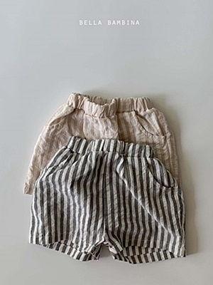 BELLA BAMBINA - BRAND - Korean Children Fashion - #Kfashion4kids - Bro Stripe Pants