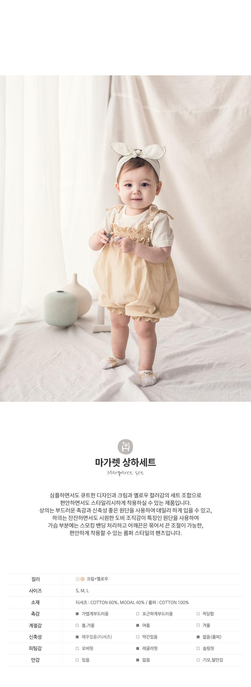 HAPPY PRINCE - Korean Children Fashion - #Kfashion4kids - Margaret Set