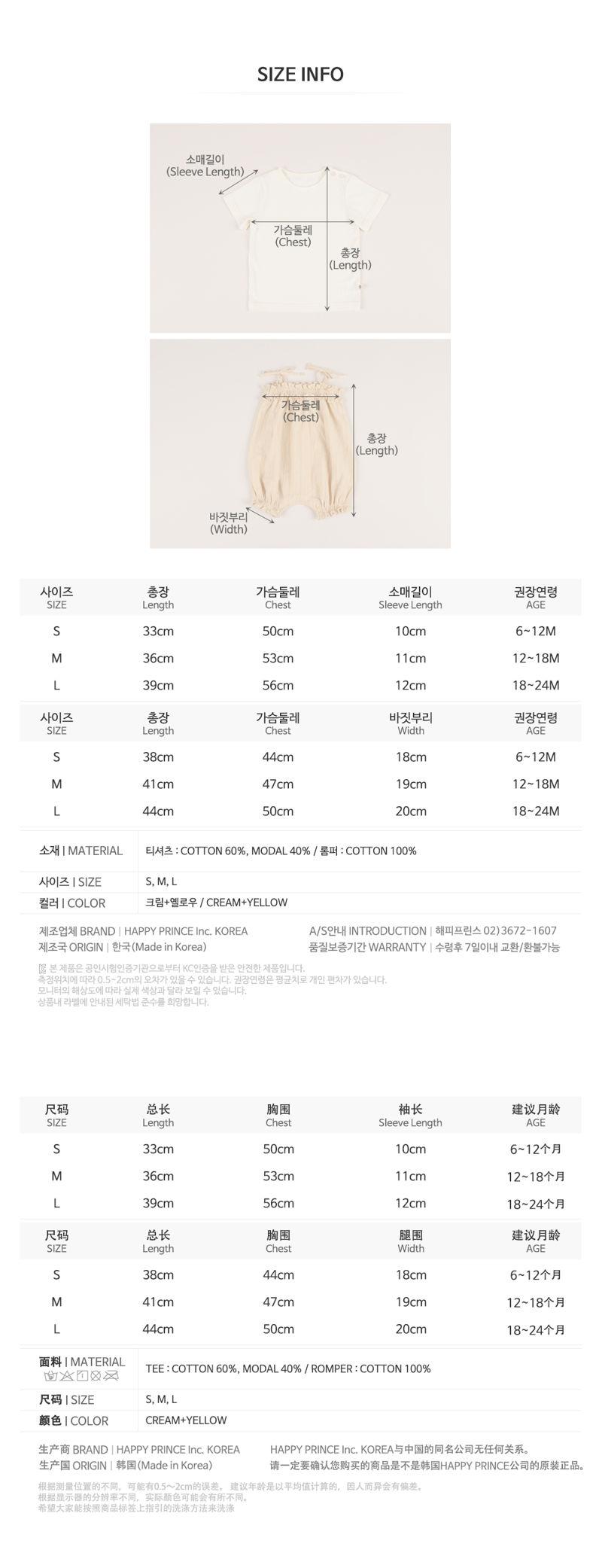HAPPY PRINCE - Korean Children Fashion - #Kfashion4kids - Margaret Set - 8