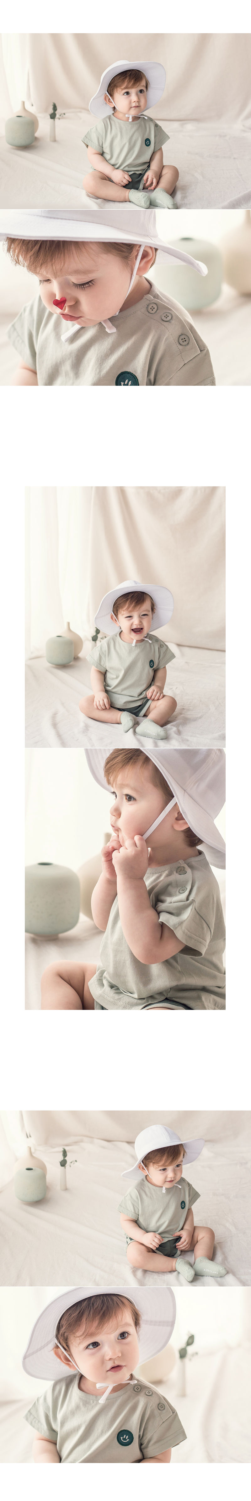 HAPPY PRINCE - Korean Children Fashion - #Kfashion4kids - Medio Set - 4