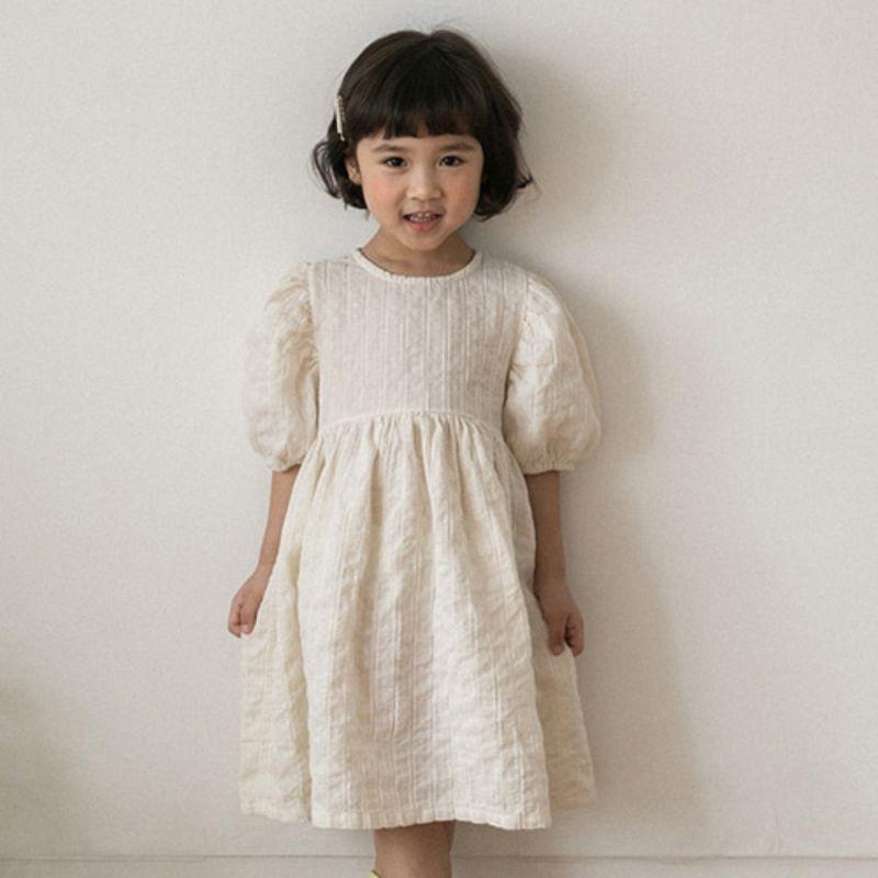 HONEYBEE - BRAND - Korean Children Fashion - #Kfashion4kids - Natural Dress
