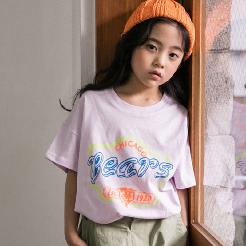 HONEYBEE - BRAND - Korean Children Fashion - #Kfashion4kids - Bears Print Tee
