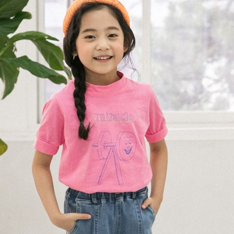 HONEYBEE - BRAND - Korean Children Fashion - #Kfashion4kids - Miracle Print Tee