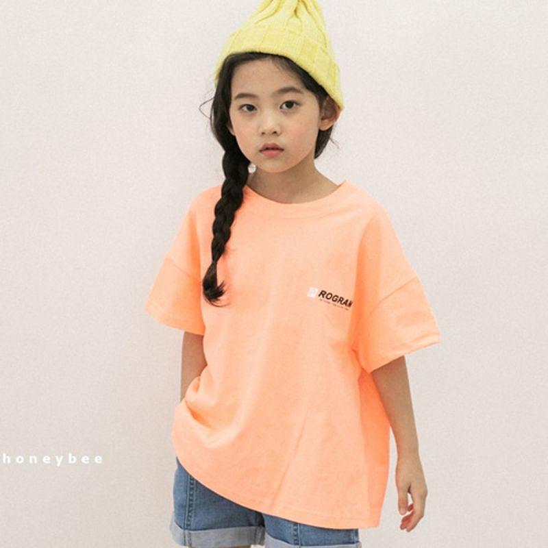 HONEYBEE - BRAND - Korean Children Fashion - #Kfashion4kids - Program Tee