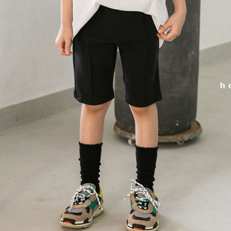 HONEYBEE - BRAND - Korean Children Fashion - #Kfashion4kids - Span Skinny Short Pants