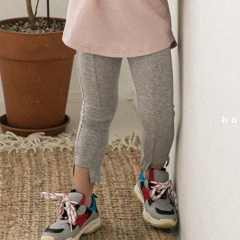 HONEYBEE - BRAND - Korean Children Fashion - #Kfashion4kids - Sllit Skinny Pants