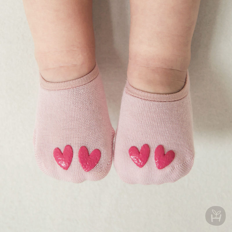 KIDS CLARA - BRAND - Korean Children Fashion - #Kfashion4kids - Love I Socks [set of 5]