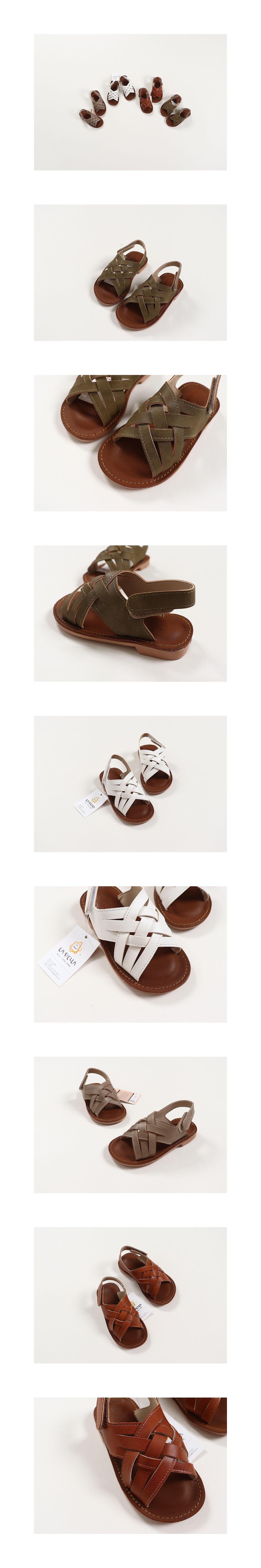 LA STELLA - Korean Children Fashion - #Kfashion4kids - Capri Sandal