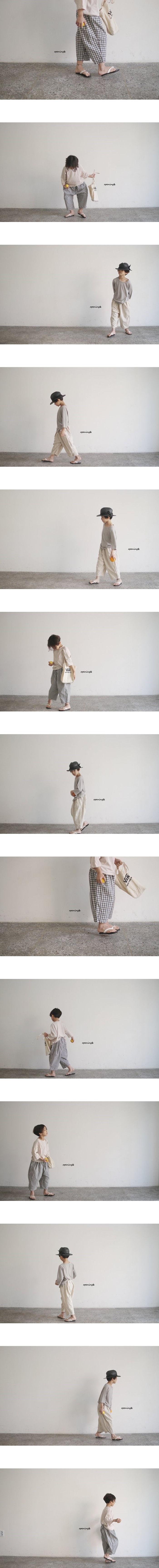 OPENING & - Korean Children Fashion - #Kfashion4kids - Square Pants