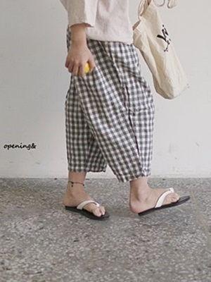 OPENING & - BRAND - Korean Children Fashion - #Kfashion4kids - Square Pants