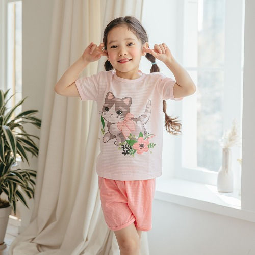 PUCO - BRAND - Korean Children Fashion - #Kfashion4kids - Lovely Moew Easywear