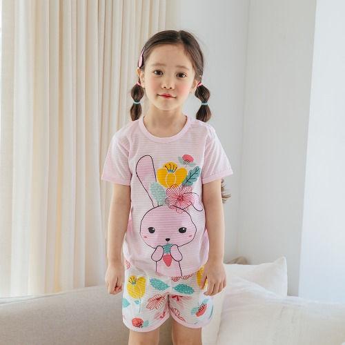 PUCO - BRAND - Korean Children Fashion - #Kfashion4kids - Yummy Rabbit Easywear